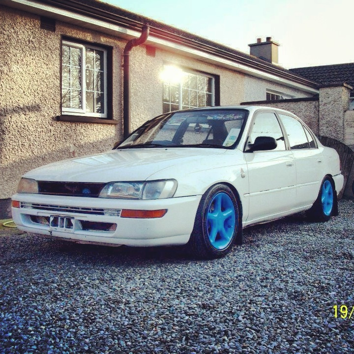 My Low and Slow E10 Corolla Saloon -rocker cover, recaro, rimmage page 3 Image_zpsbb336044