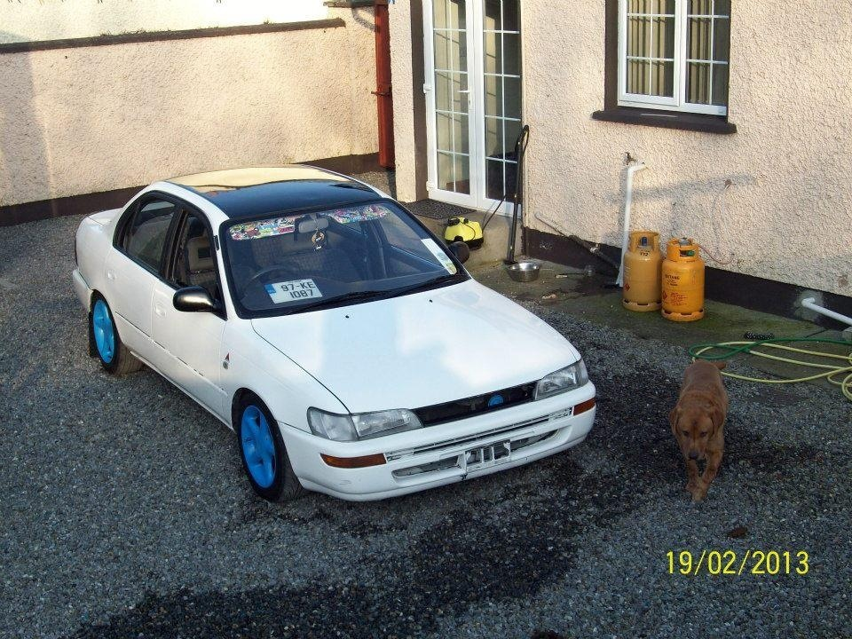 My Low and Slow E10 Corolla Saloon -rocker cover, recaro, rimmage page 3 Image_zpsd7bafc40