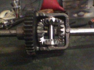 MTD Off Road Build    Axle