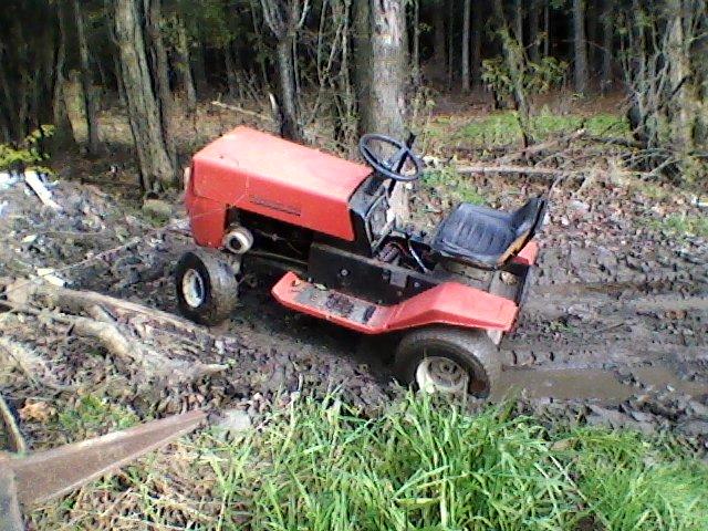 MTD Off Road Build    Trac