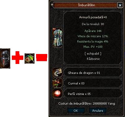 Vrajitoarea si Dragonul implementate pe server! O noua fata a armurii diavol ! O superba imagine a serverului! Pose