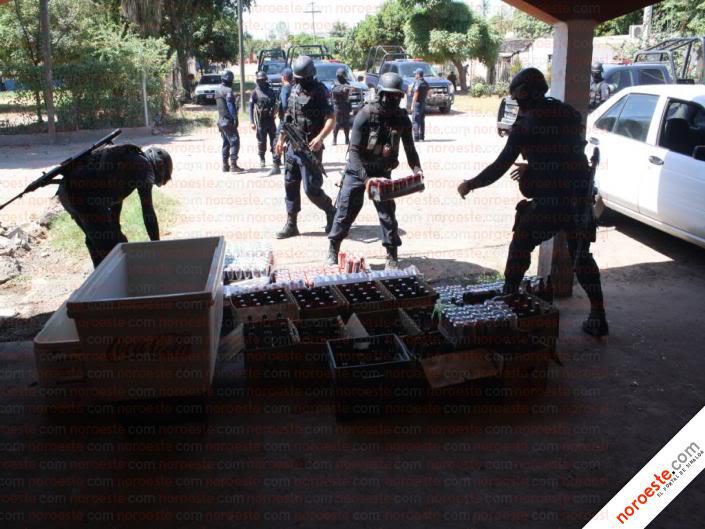 Fotos de la Policía Élite de Sinaloa Imagen22