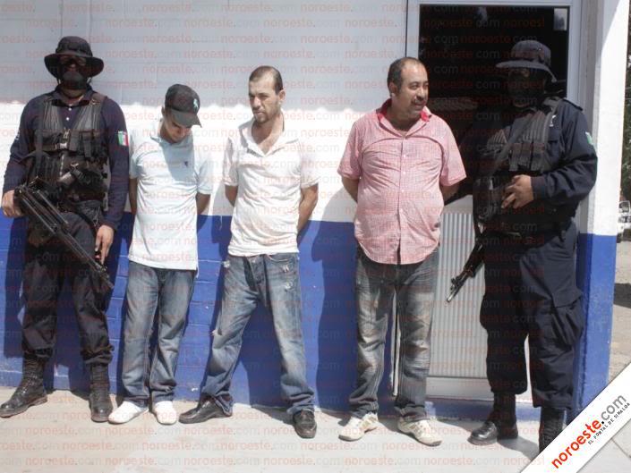 Fotos de la Policía Élite de Sinaloa Imagen24
