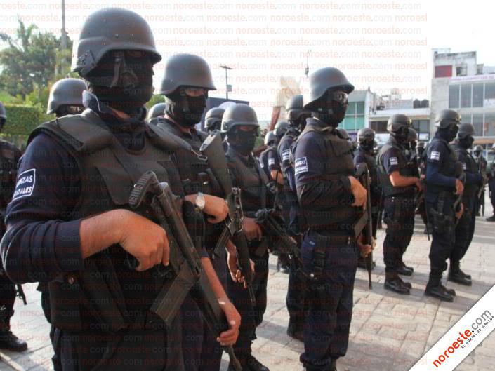 Fotos de la Policía Élite de Sinaloa Imagen26