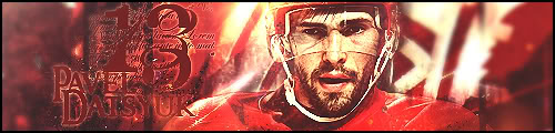 Detroit Red Wings Datsyuk