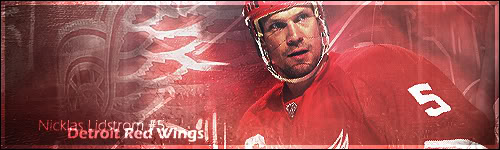 Detroit Red Wings Lidstrom