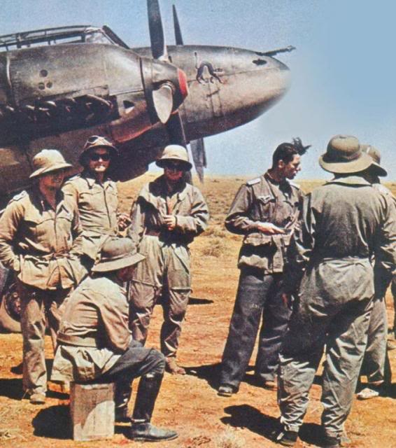 BF-109 F AFRICA CORPS  1/72 Afrika_Korps_-_Messerschmidt_Bf-110
