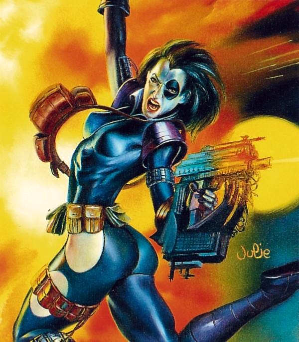 DOMINO Marvel1995Fleer_Domino