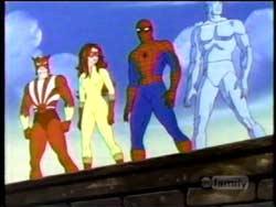 FIRESTAR Spiderfriends