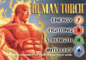 HUMAN TORCH HumanTorchIQ