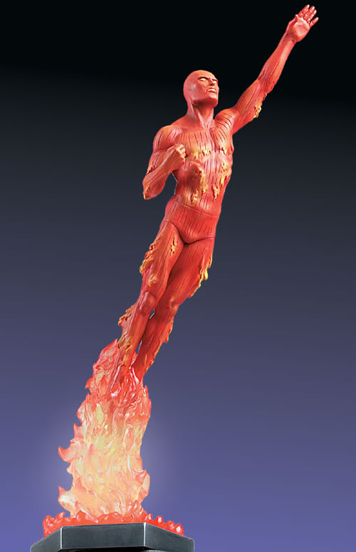 HUMAN TORCH Human_Torch_Statue