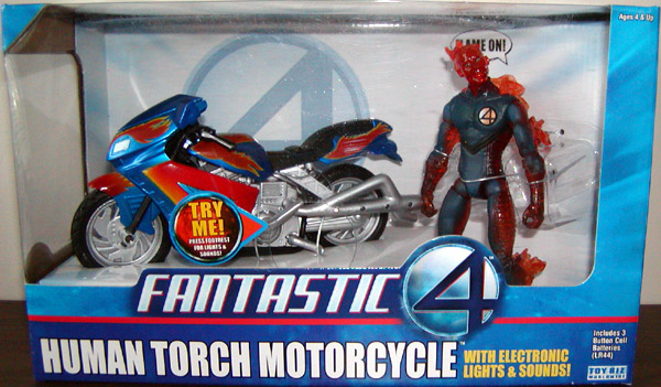 HUMAN TORCH Humantorchmotorcycle