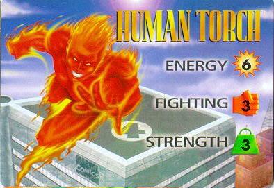 HUMAN TORCH Humantorchoriginal
