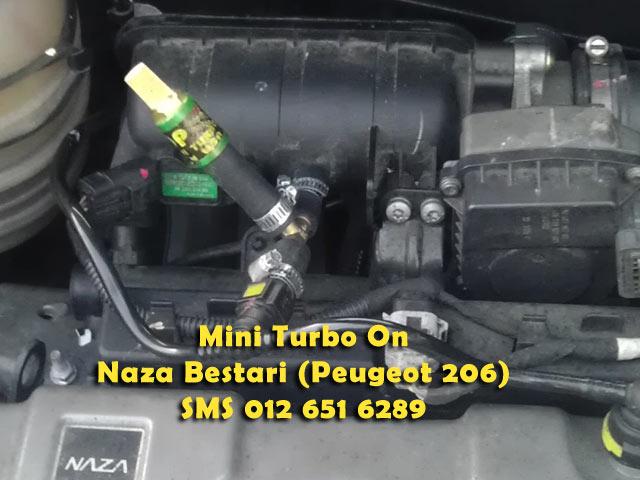 Mini Turbo Tambah Pickup! Laju Naik Bukit! Jimat Minyak! TERBAIK Utk Viva,Myvi,Alza! Mini206bZ
