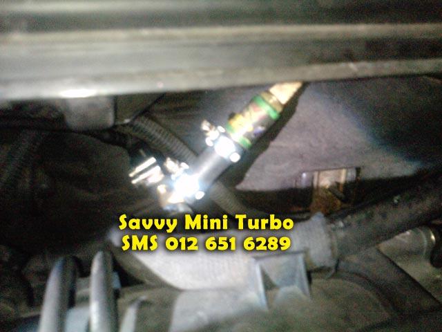 Mini Turbo Tambah Pickup! Laju Naik Bukit! Jimat Minyak! TERBAIK Utk Viva,Myvi,Alza! Savvymini640
