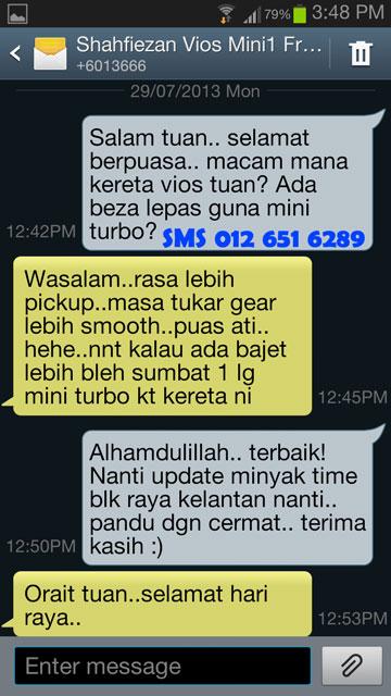 Mini Turbo Tambah Pickup! Laju Naik Bukit! Jimat Minyak! TERBAIK Utk Viva,Myvi,Alza! VIOS-TESTI_zps79f79c62
