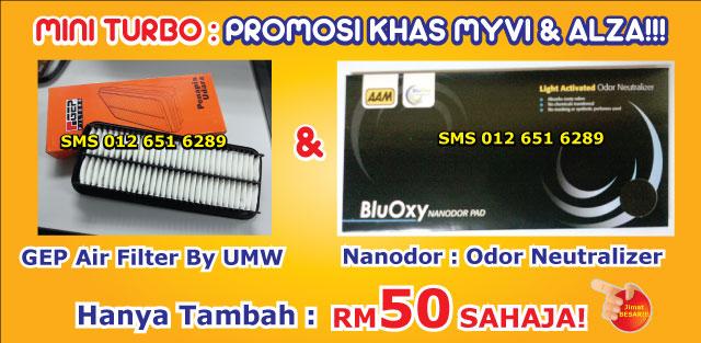 Mini Turbo Tambah Pickup! Laju Naik Bukit! Jimat Minyak! TERBAIK Utk Viva,Myvi,Alza! Promo-airfilterz_zpsb5d11020