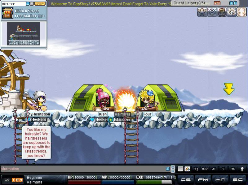Kish and Four gather around the campfire :D  Fapstory