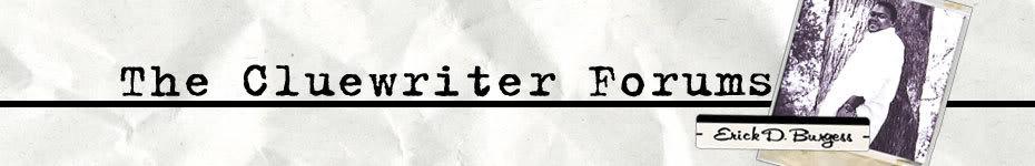 Cluewriter Forum