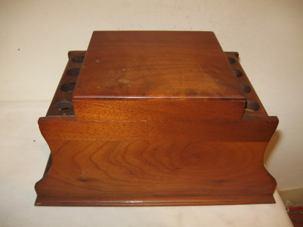 Antique Pipe Rack Restoration Project Humidor1