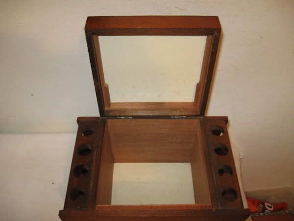 Antique Pipe Rack Restoration Project Humidor2