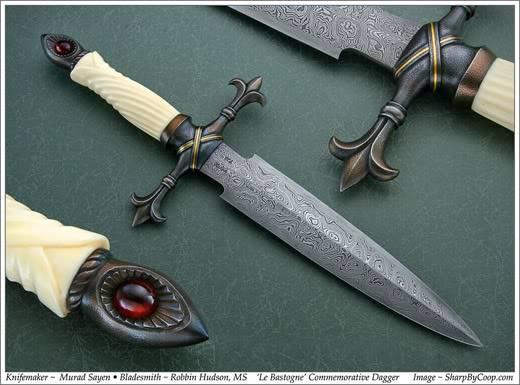 Fixed Blade Knife Bastogne