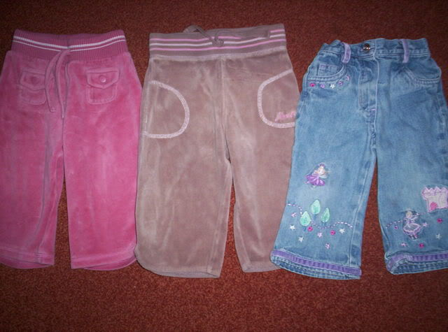 Girls Next trousers 6-9m 100_3111