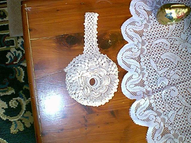 Victorian Thread Holder - crochet VictorianThreadHolder