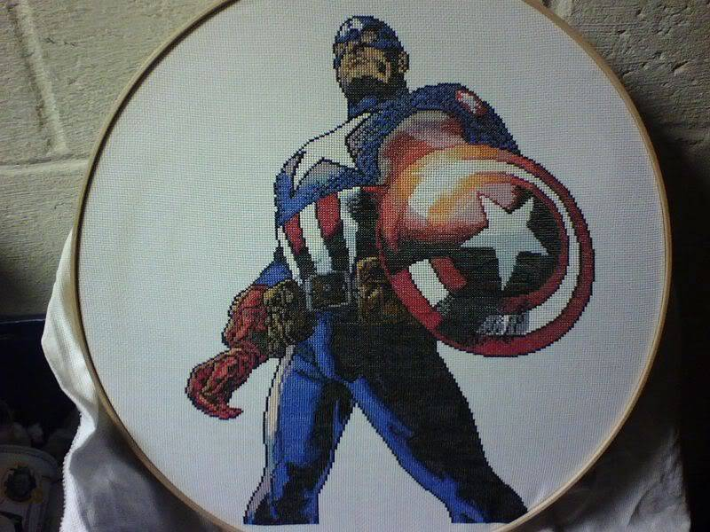 Greg's Completed Cross-Stitch Captain1Picture1