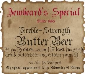 Butter Beer (non-alcoholic) TrebleStrengthButterbeer-1