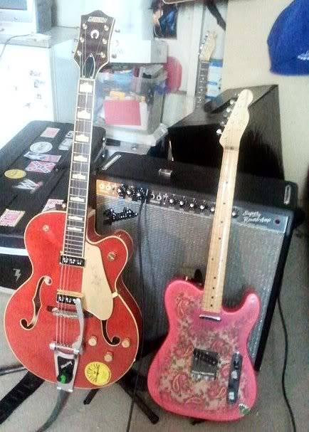 Welcome to the new forum, tell me about your rocking geetar! Gretschtele