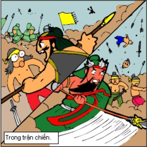 Tam Quốc Diễn Nghĩa truyện tranh hài 1-11