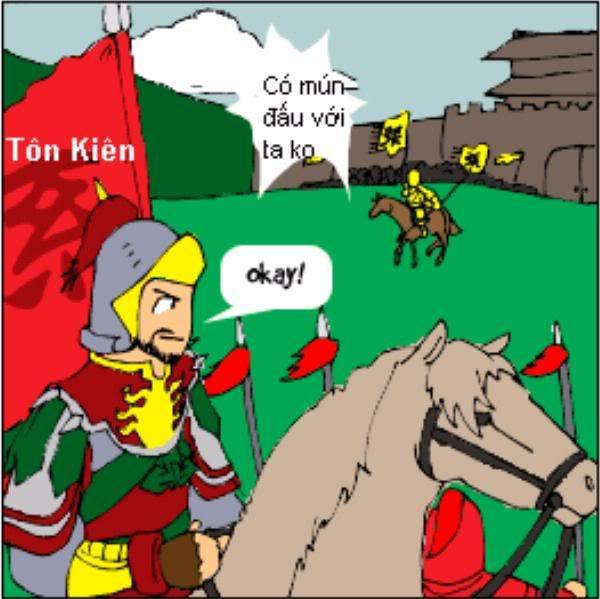 Tam Quốc Diễn Nghĩa truyện tranh hài 1-12