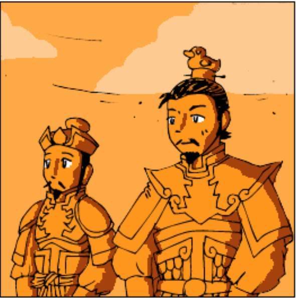 Tam Quốc Diễn Nghĩa truyện tranh hài 1-14