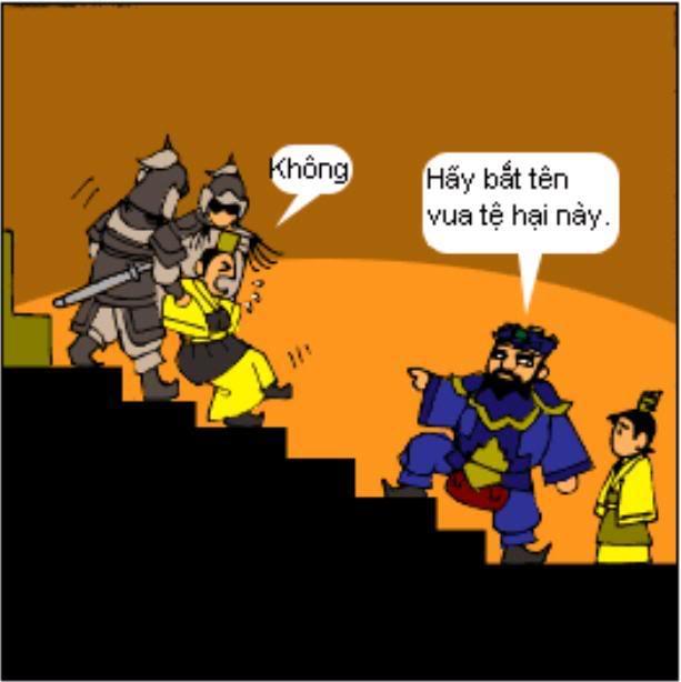 Tam Quốc Diễn Nghĩa truyện tranh hài 1-15