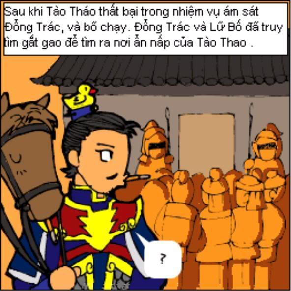 Tam Quốc Diễn Nghĩa truyện tranh hài 1-18