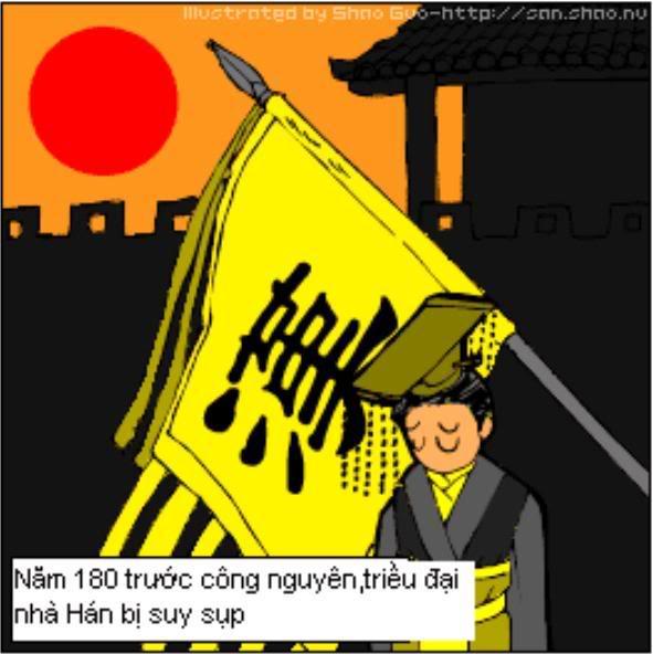 Tam Quốc Diễn Nghĩa truyện tranh hài 1