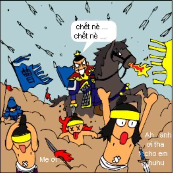 Tam Quốc Diễn Nghĩa truyện tranh hài 2-10