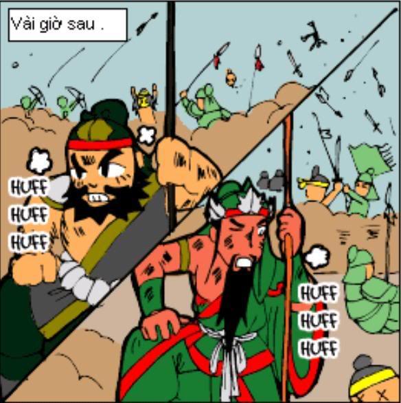 Tam Quốc Diễn Nghĩa truyện tranh hài 2-11