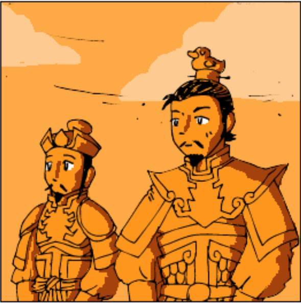 Tam Quốc Diễn Nghĩa truyện tranh hài 2-14