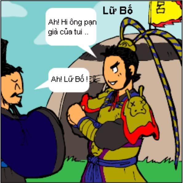 Tam Quốc Diễn Nghĩa truyện tranh hài 2-16
