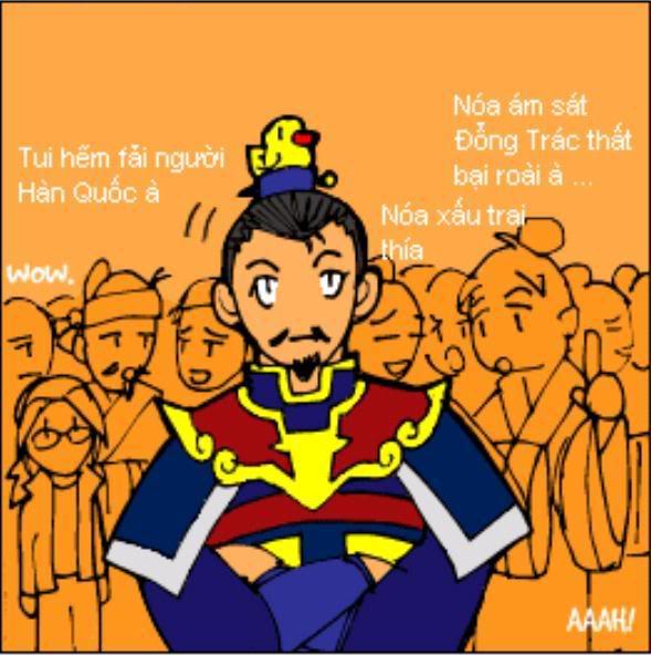 Tam Quốc Diễn Nghĩa truyện tranh hài 2-18