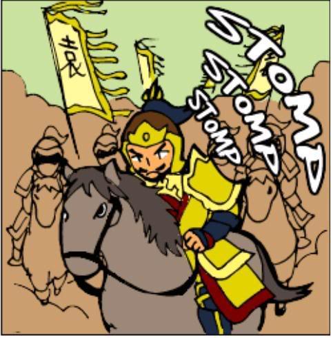 Tam Quốc Diễn Nghĩa truyện tranh hài 2-21