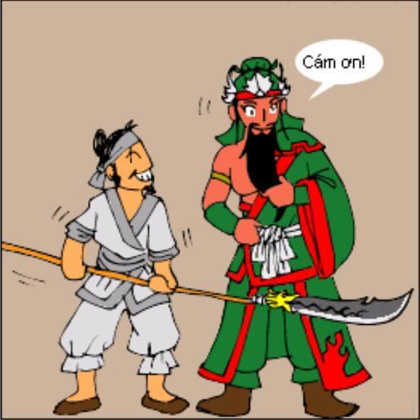 Tam Quốc Diễn Nghĩa truyện tranh hài 2-8