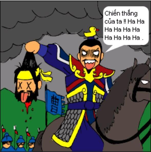 Tam Quốc Diễn Nghĩa truyện tranh hài 3-10
