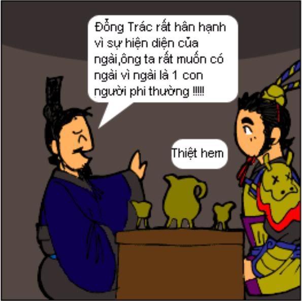 Tam Quốc Diễn Nghĩa truyện tranh hài 3-16