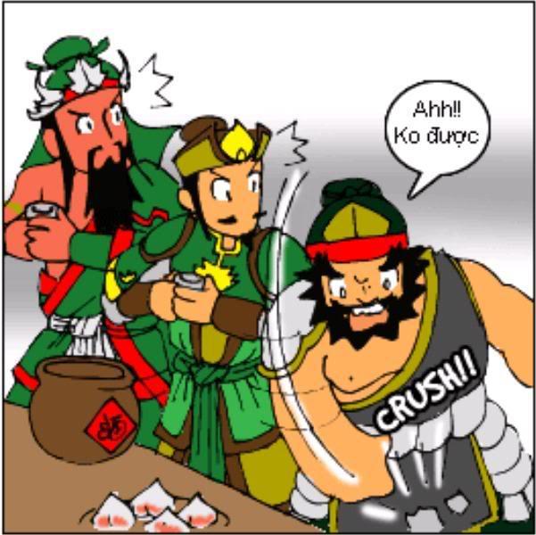 Tam Quốc Diễn Nghĩa truyện tranh hài 3-7