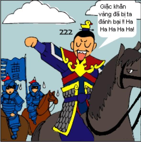 Tam Quốc Diễn Nghĩa truyện tranh hài 4-10