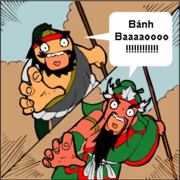 Tam Quốc Diễn Nghĩa truyện tranh hài 4-11