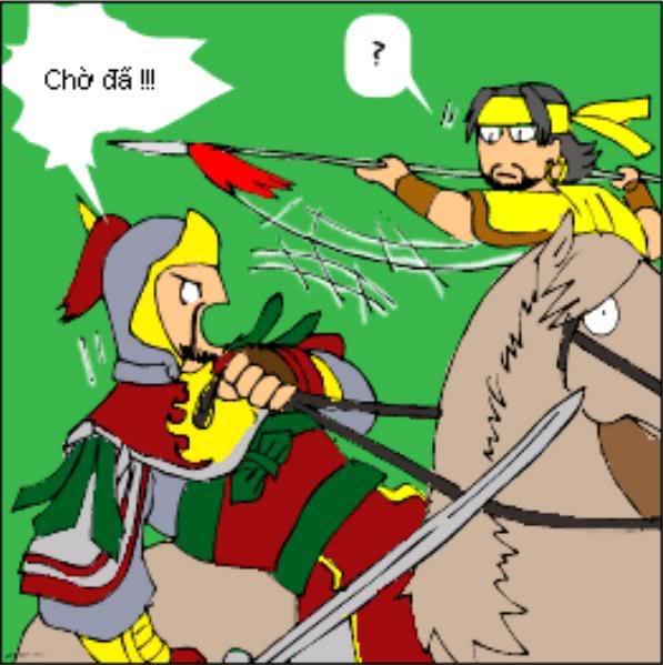 Tam Quốc Diễn Nghĩa truyện tranh hài 4-12